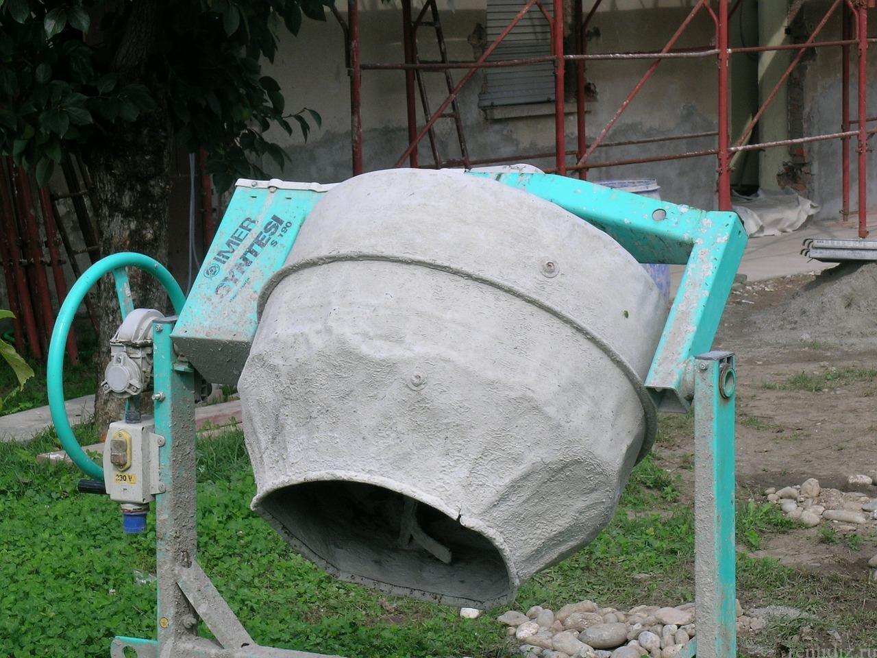 Бетономешалки