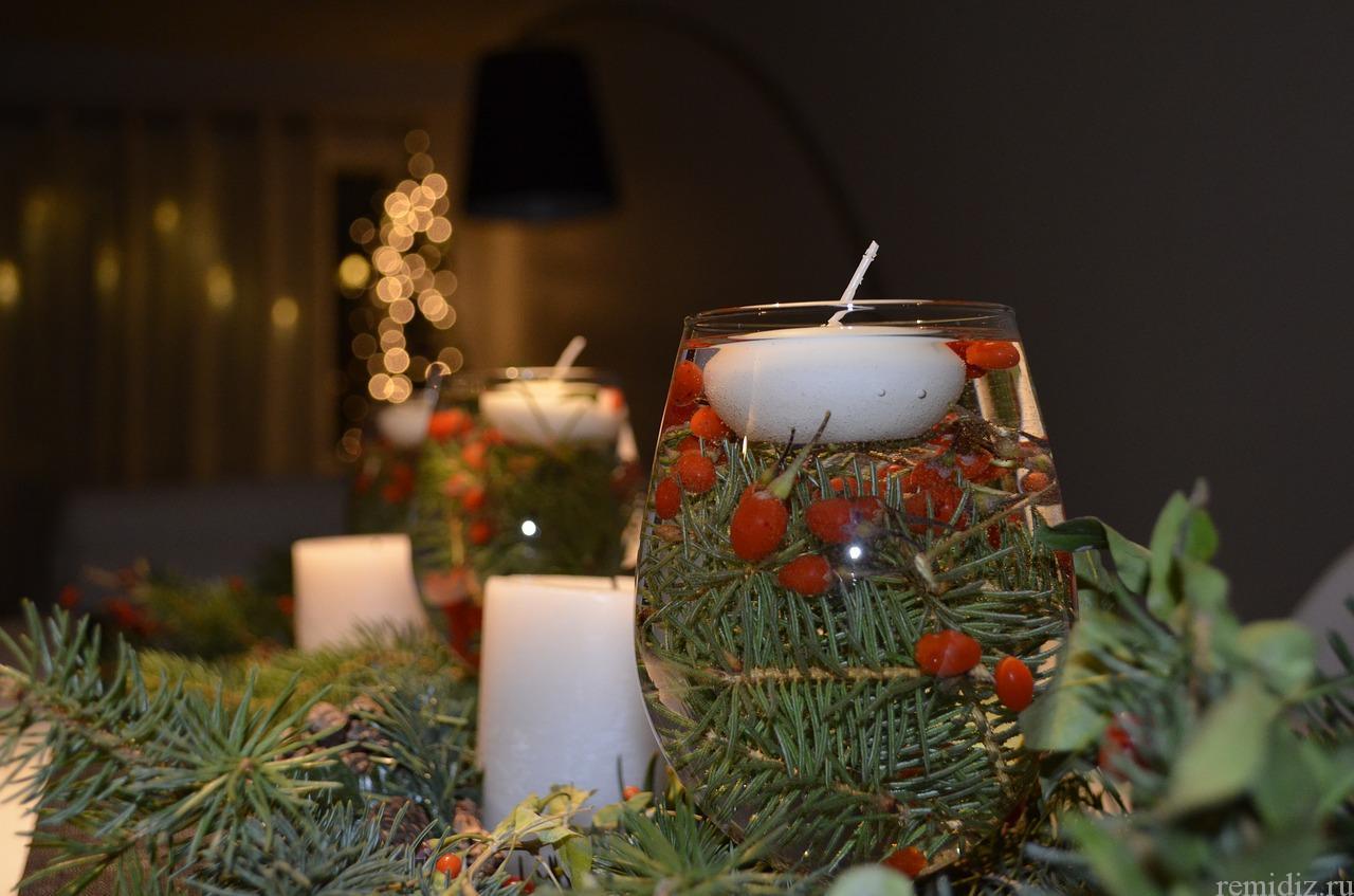 Рождественский стол. Идеи для оформления