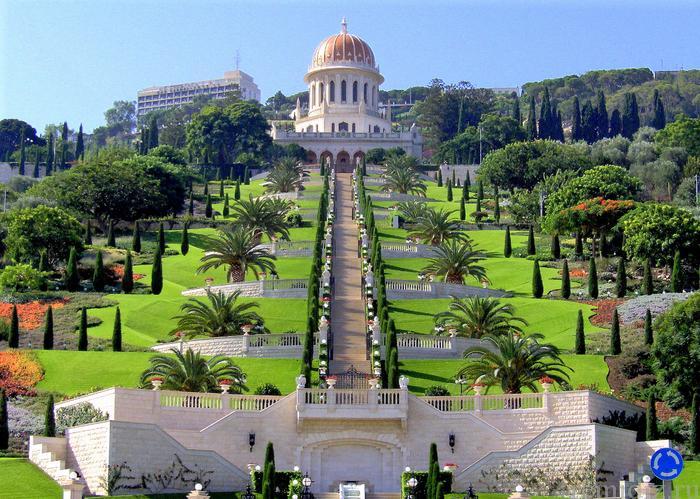 храм веры бахаи и его величественные сады