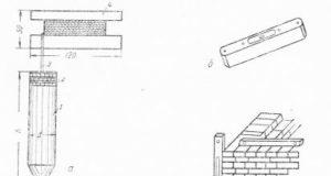 Измерительные приборы каменщика