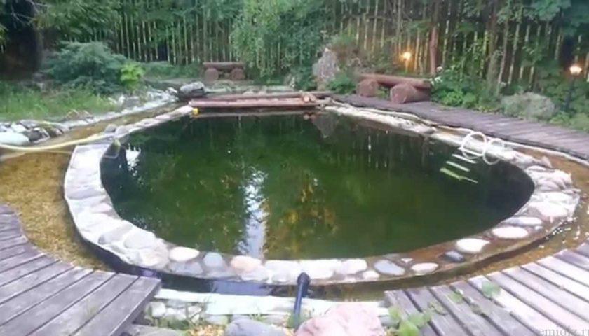 Оборудуем бассейн на даче своими руками